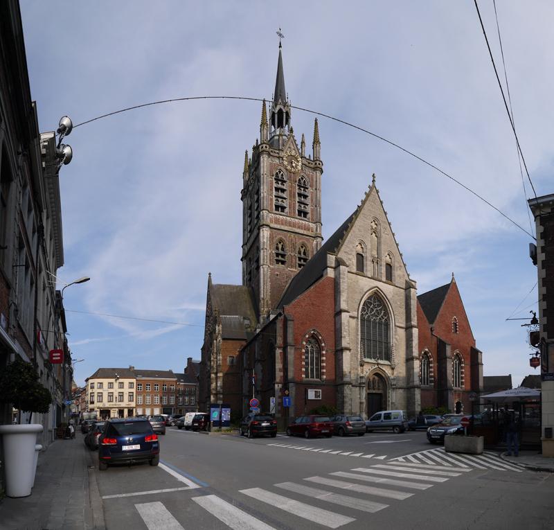 5 BE HA Enghien-Enghien-Place Pierre Delannoy-Eglise Saint-Nicolas 2014-03-29 (3)