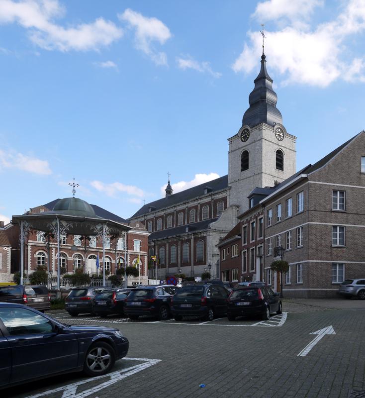 5 BE VB Hoegaardern-Gemeenteplein 2014-10-19 (6) Sint-Gorgoniuskerk
