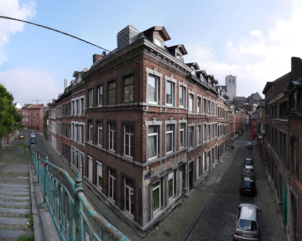 BE LI Liège-Sainte-Margueritte-Rue des Ramparts-Rue des Cloutiers 2014-09-03